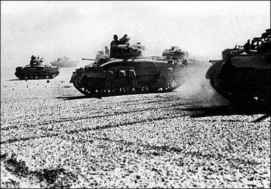 北非德军地雷阵威力大 英军名将40分钟拼光一个装甲旅