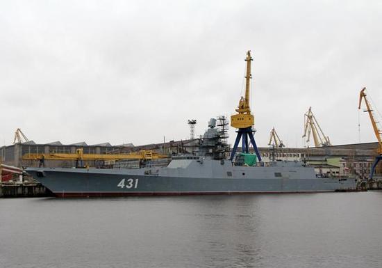 """图片:还没试航过的2号舰:""""卡萨托诺夫海军上将""""号"""