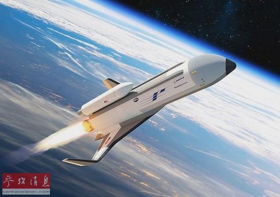 """美""""幻影快车""""太空飞机将问世 可更换受损卫星"""