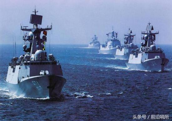 我军东海演习禁航区有玄机 一技术可完全模拟台湾岛
