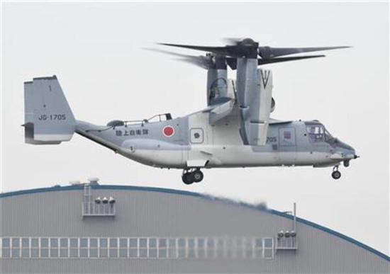 拿防中國當借口 日本計劃將魚鷹飛機部署在九州島