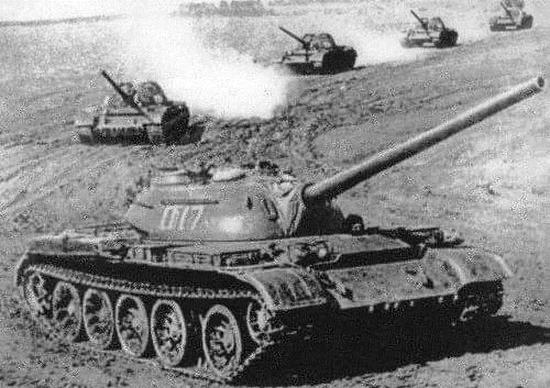 常规的T54坦克,和279实在是天壤之别