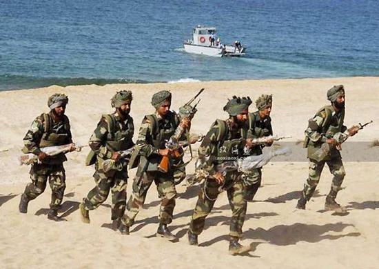 """印媒:印度和越南将在中国""""后院""""海域联合军演伊芙蕾雅相亲"""