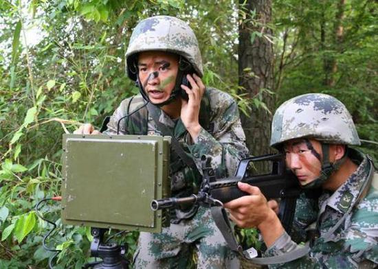 美军要研新军服可在12公里内隐身 中国已研制成功耿惠昌是耿飚的儿子