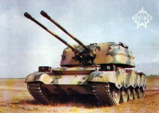 俄步兵战车装57毫米重型机关炮 我军曾用其击沉越舰