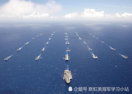 美军印太战区成立结束27年假期 开始对中国全面包围