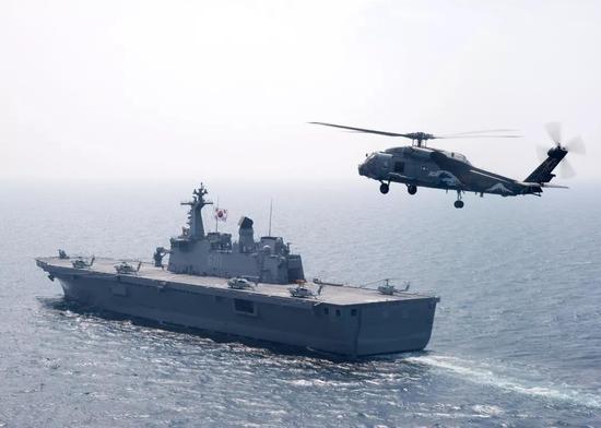 韩国要造航母对抗日本海自 同时对中国也造成威胁