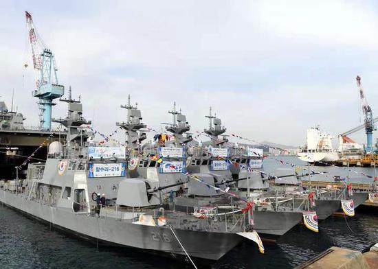韩国造船业大爆发再居世界第一 中国屈居第二