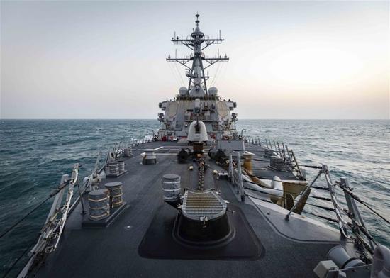 解放军两架军机进台西南空域 台媒惊呼:美军舰刚走