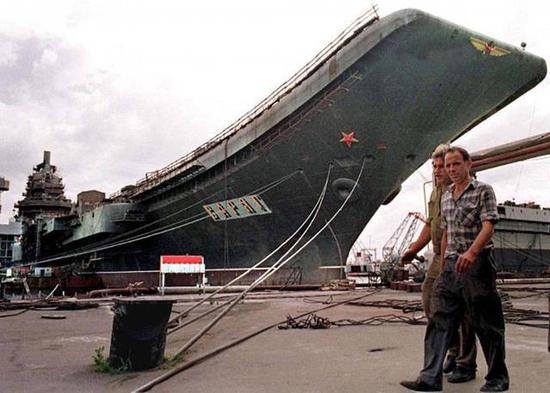 当年俄航母