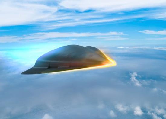 美軍未來高超聲速武器效果圖。