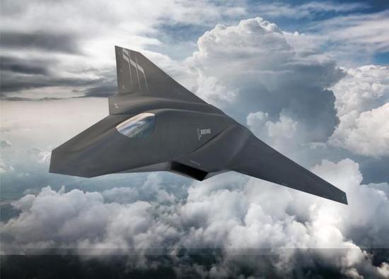 美国波音公司六代战机设计图