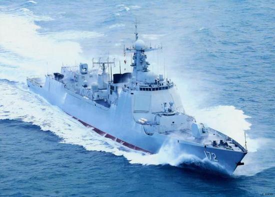 图片:052D首舰昆明舰