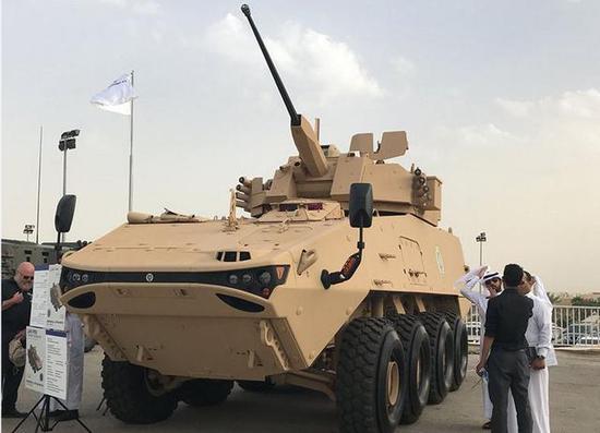 ▲LAV-FSV 8X8轮式装甲车采用模块化设计