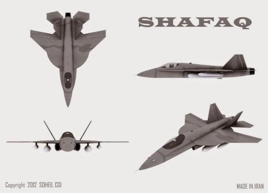 从塑料模型到魔改版F5 伊朗隐形战机梦是否能实现