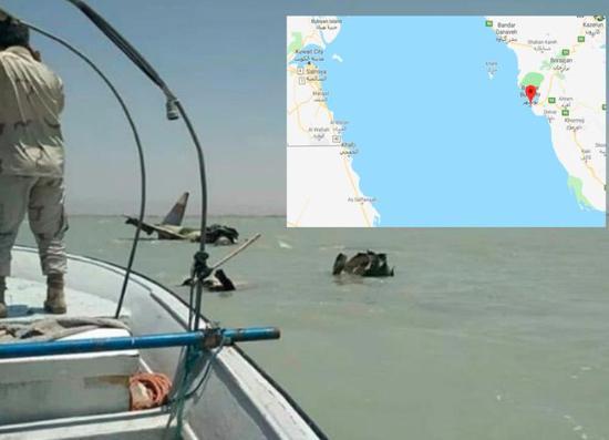 伊朗一架F4战机在波斯湾附近坠毁 两飞行员弹射逃生