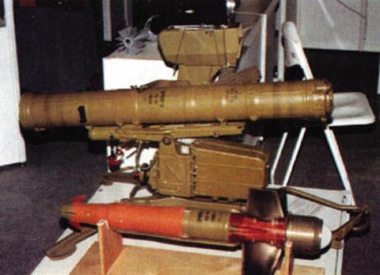 俄反坦克导弹