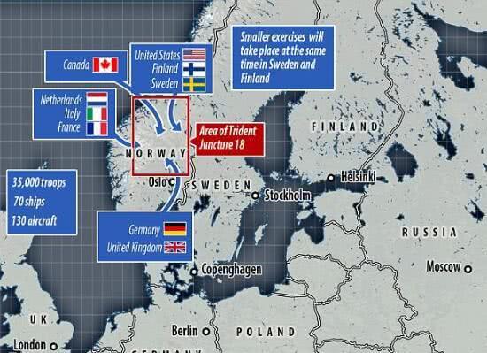 北约将出动1万辆战车及120架军机在俄周边国家军演