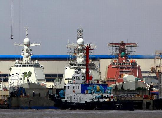 中国海军052D型导弹驱逐舰