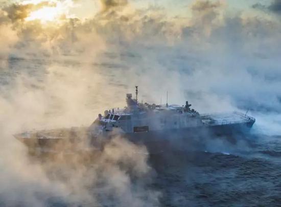 张召忠评美军濒海战斗舰:就像个大玩具中看不中用