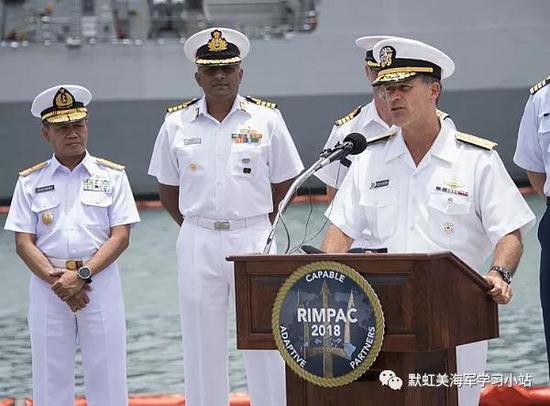美军环太军演拒绝我军参加 这一细节却显中国存在感