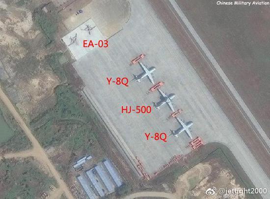 知名军事博主@jetfight2000发布的卫星图。非常感谢。