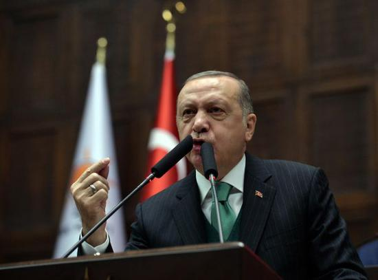 资料图:土耳其总统埃尔多安