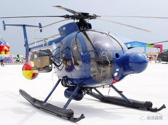 ▲ 500MD/ASW是台军的第一代反潜直升机