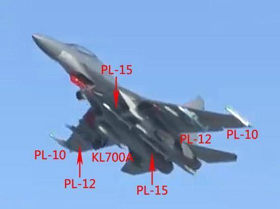 歼-16的丰富的外挂