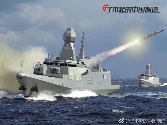 中国战舰型号揭秘:057舰50年前就造度过 022艇最壹道