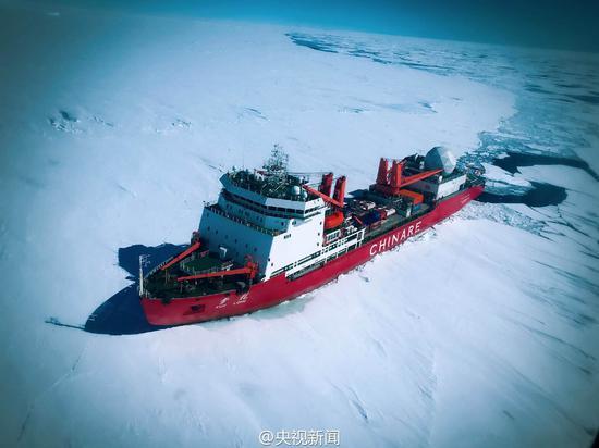 中国又一海洋重器亮相 将为我军核潜艇开辟极地航线