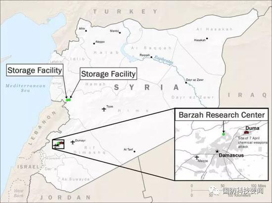 美军介绍对叙军事打击行动 阻止阿萨德再次发动进攻