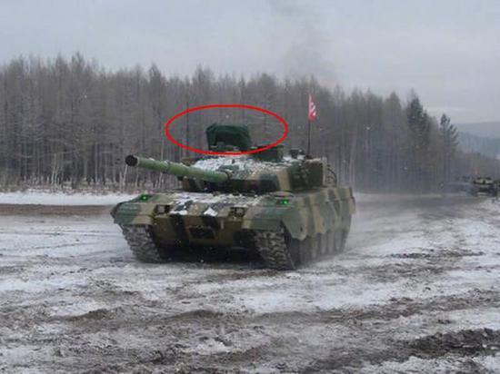 中国96B主战坦克进行寒区试验 将成未来跨海登陆主力