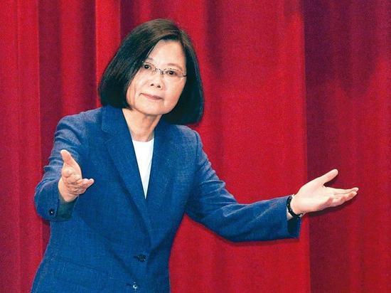 """台湾教授评蔡英文:将成为""""促进统一""""第一大功臣"""
