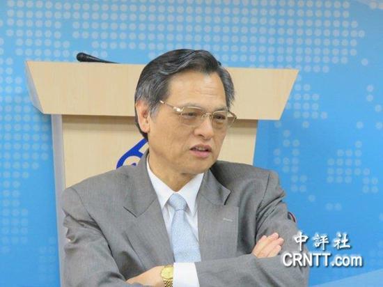 陆委会主委陈明通 图自中评社