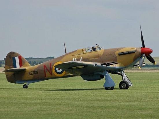 英军飓风式战机