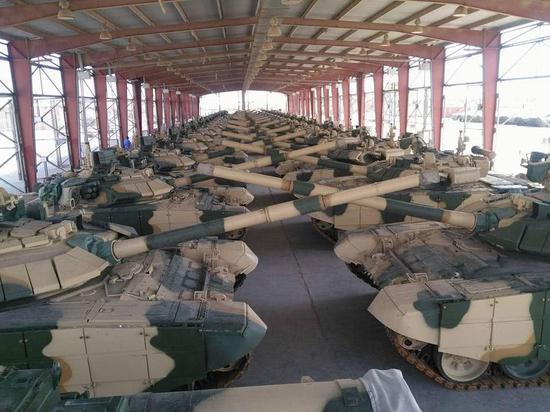 伊拉克购美M1坦克挡不住中国红箭导弹 已转购俄T90