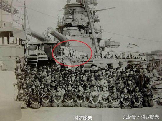 北洋舰队大炮晾衣服是谣言 旧日本海军也曾这么干