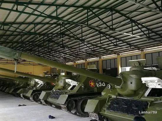 越南陆军主力火炮竟是二战古董 购俄T90还得赊账