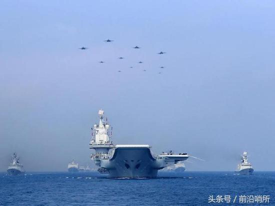 中俄海军阅兵相差不足百日,对比后彰显俄海军窘境