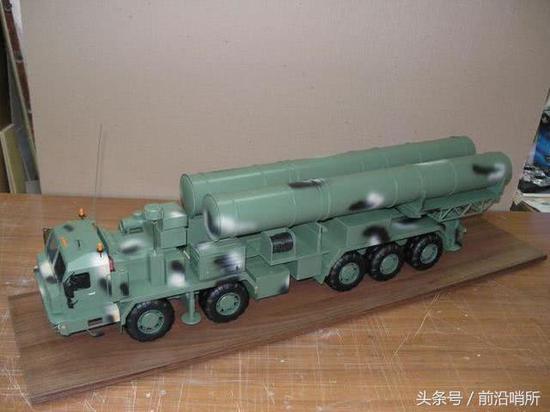 S-500防空系统模型