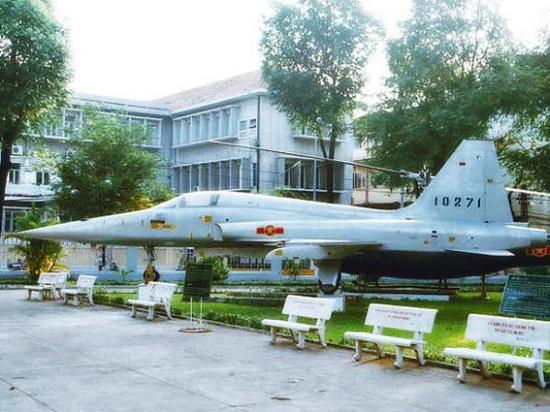 越南空军涂装的F-5战斗机