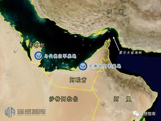 中国卫星再次监视美军中东部署 拍到F35藏身地(图)