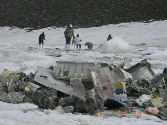 印度空军终于找到已坠毁51年的安12运输机残骸(图)