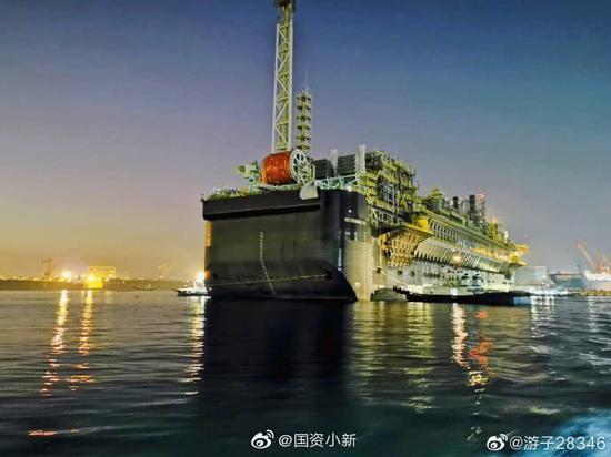 中国建成海上浮式储卸油装置 最大储油量160万桶(图)