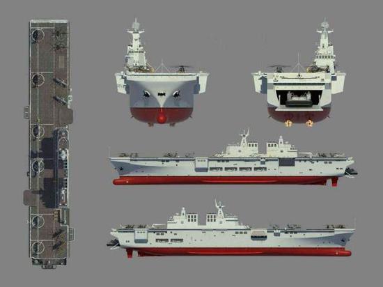 075舰设计图