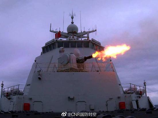 改进型052D舰官宣入列东海舰队 首次参与实战化训练