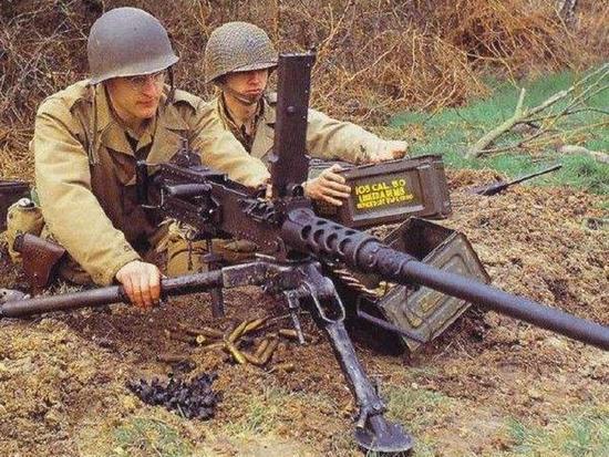 美军高射机枪