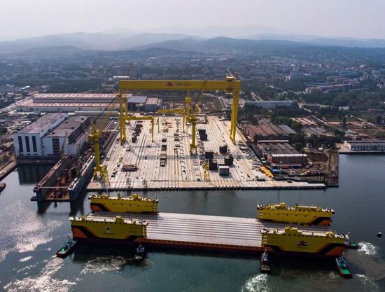 俄将建造比航母还大核动力巨兽 中国设备或将帮上忙
