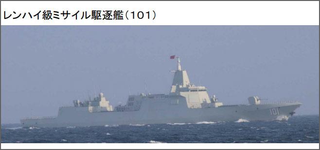 日本防卫省:中国海军055大驱编队穿越大隅海峡